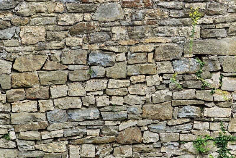 Pared de piedra natural fotos de archivo