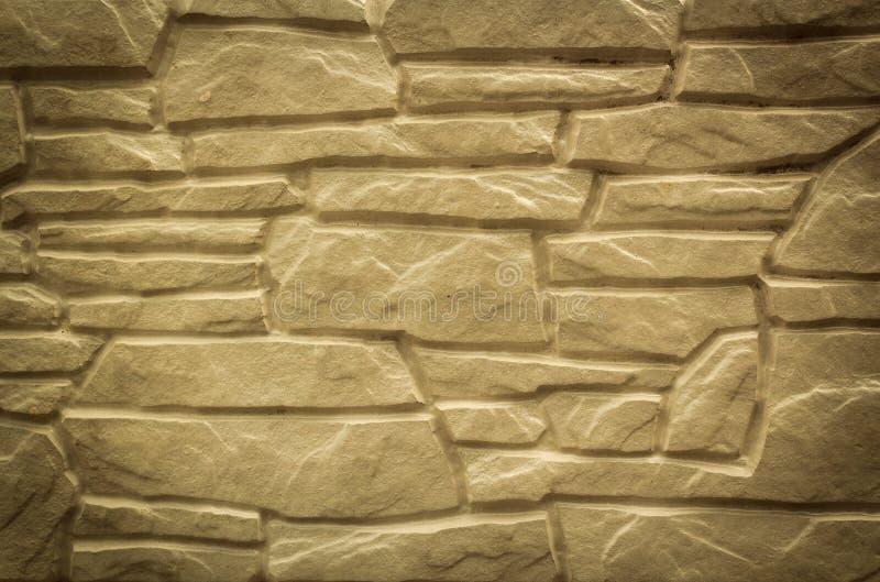 pared de piedra natural para el interior al aire libre moderno foto de archivo