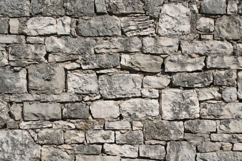 Pared de piedra resistida fotografía de archivo