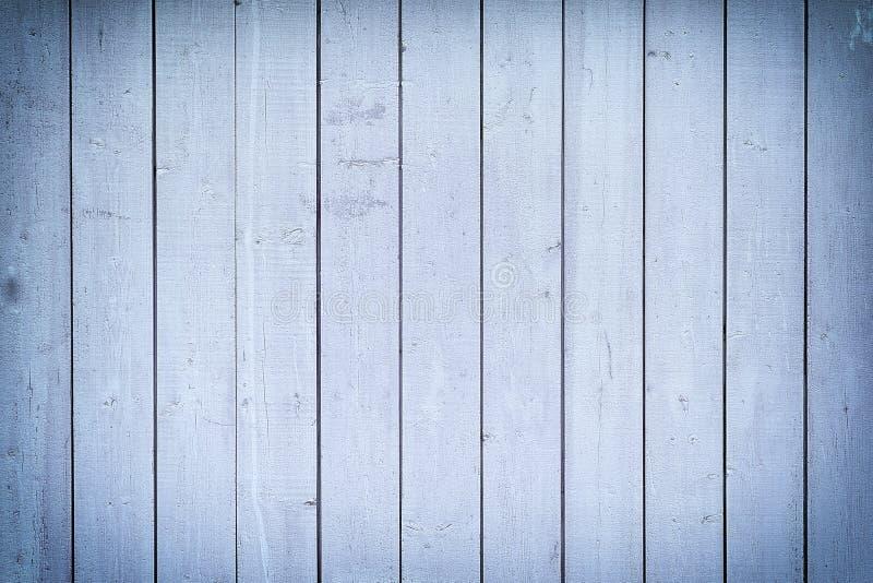 Pared de tableros verticales azules Un fondo fresco con las texturas de listones de madera fotos de archivo libres de regalías