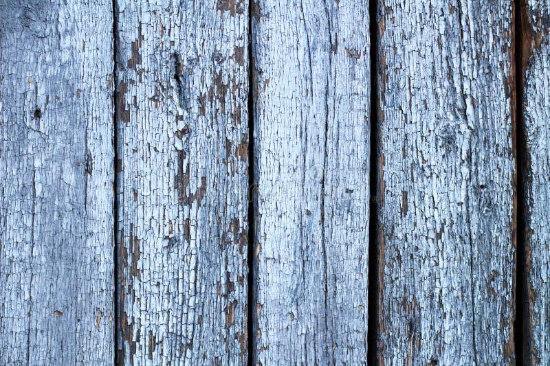 pared de viejos tableros de madera agrietados pintados Fondo del vintage para las fotos foto de archivo