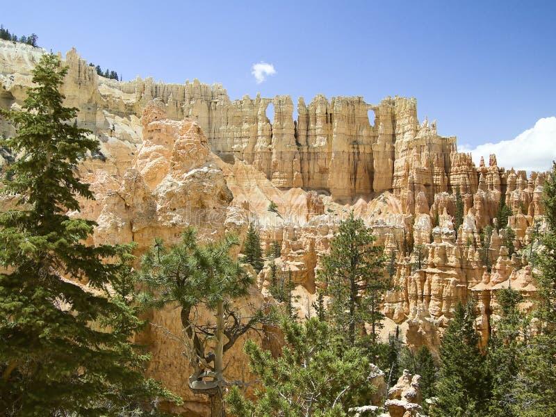 Pared de Windows, parque nacional de Bryce, Utah imagen de archivo
