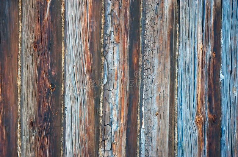 Pared del envejecimiento de la textura de la madera imagen de archivo libre de regalías