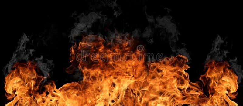 Pared del fuego fotografía de archivo