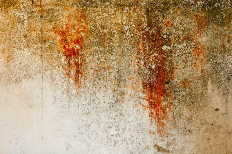 Pared del Grunge con multilayers de la pintura fotos de archivo