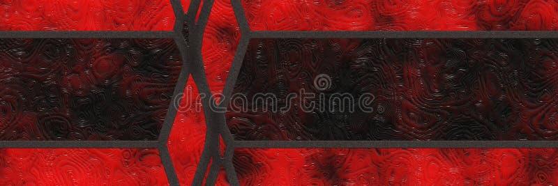 Pared del mosaico de la decoración del diseño Geométrico abstracto stock de ilustración