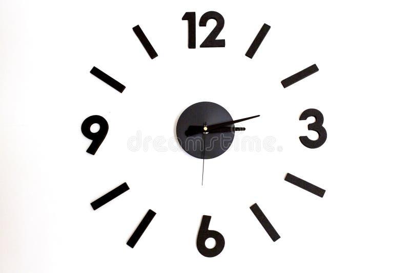 Pared del reloj imagen de archivo