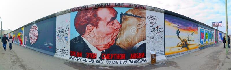 Pared en Berlín, Alemania foto de archivo libre de regalías
