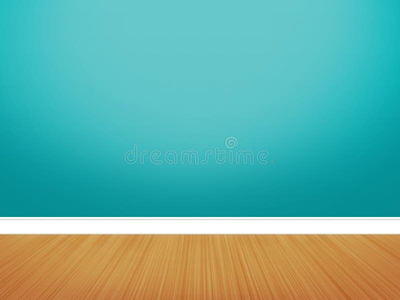 Pared en blanco ilustración del vector
