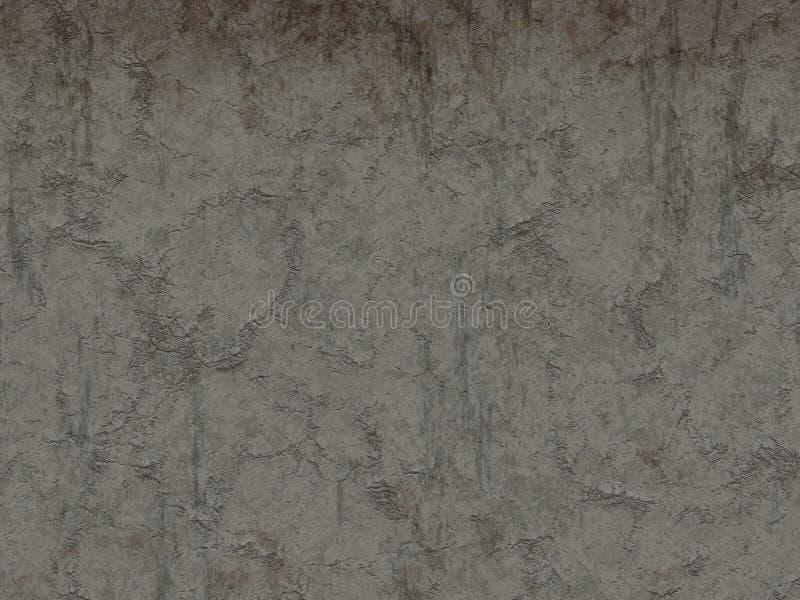 Pared erosionada del cemento stock de ilustración