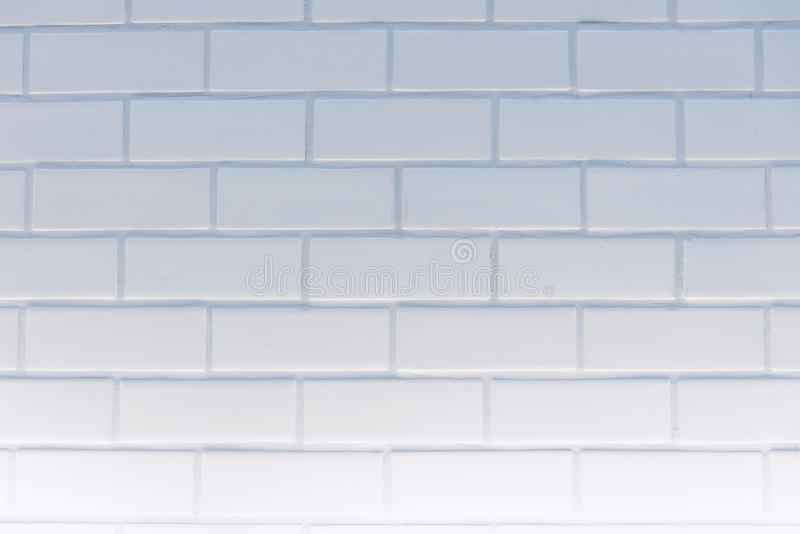 Pared limpia blanca de la textura del ladrillo del rectángulo para el fondo: Abstra imagenes de archivo