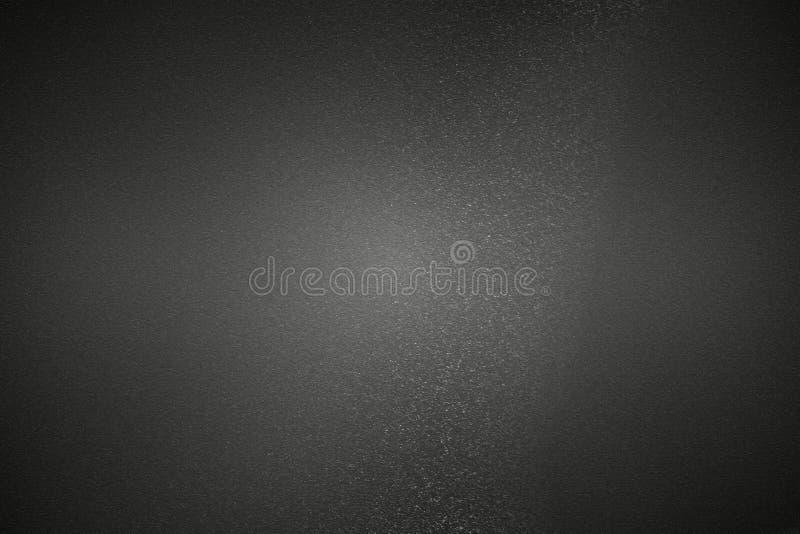 Pared metálica negra de los rasguños, fondo abstracto de la textura stock de ilustración