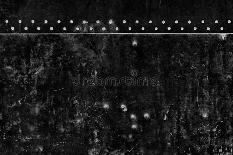 Pared negra de Grunge foto de archivo libre de regalías