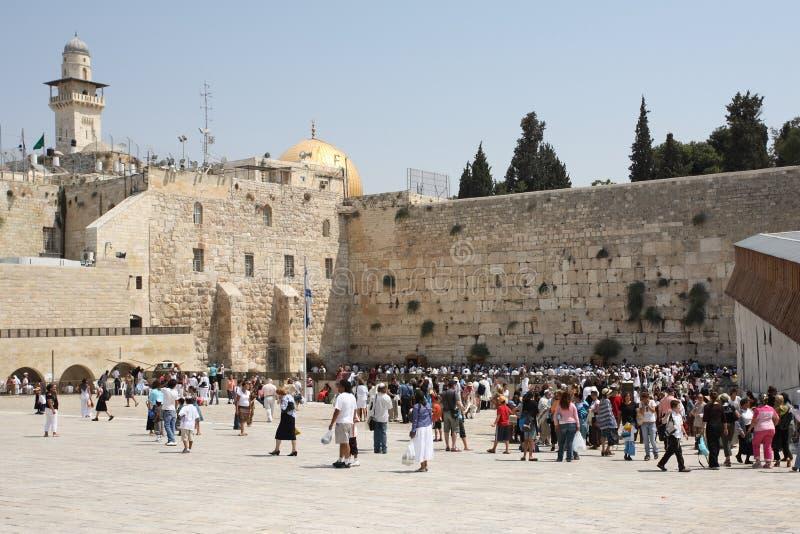 Pared occidental, Jerusalén, Israel foto de archivo libre de regalías