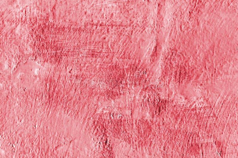 Pared pintada rojo Fondo decorativo pintado extracto imagenes de archivo