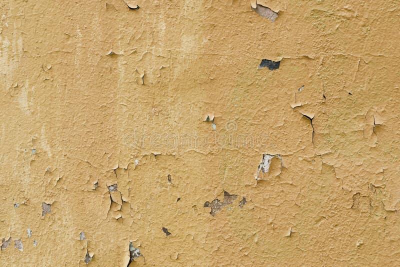 Pared pintada vieja con las manchas imagen de archivo
