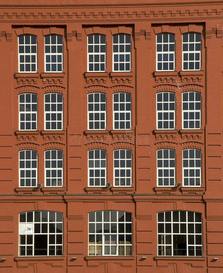 Download Pared roja imagen de archivo. Imagen de moderno, rojo, viejo - 188493