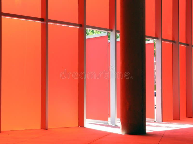Pared roja imágenes de archivo libres de regalías