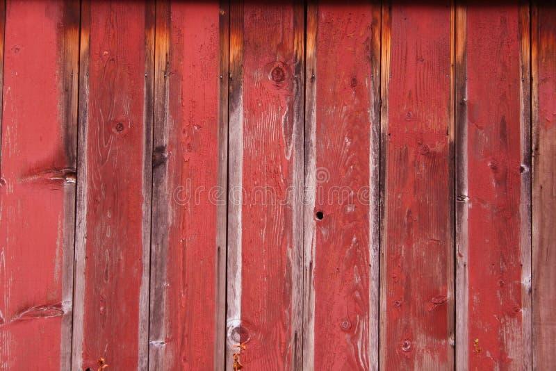 Pared roja fotografía de archivo libre de regalías