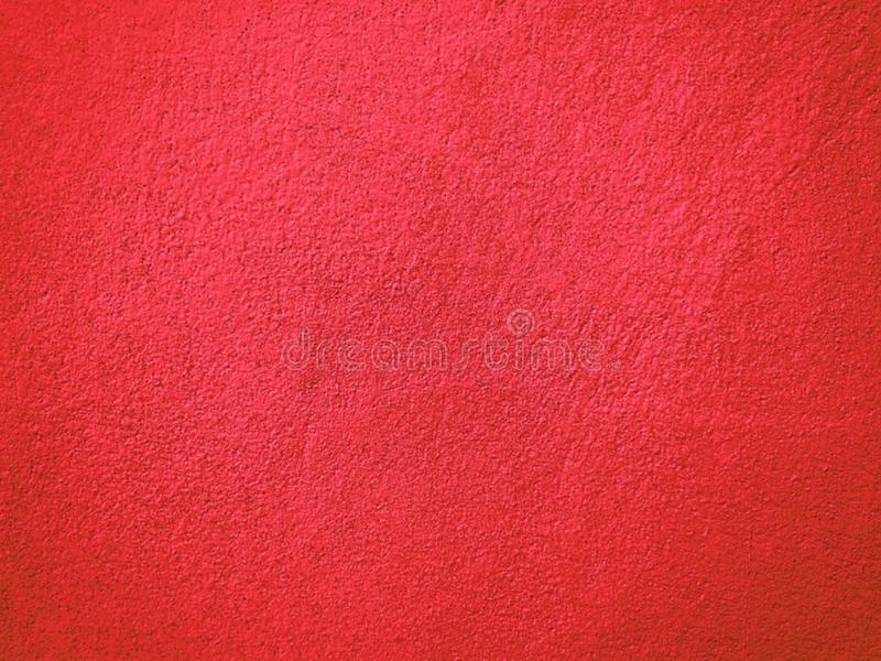 Pared roja del cemento stock de ilustración