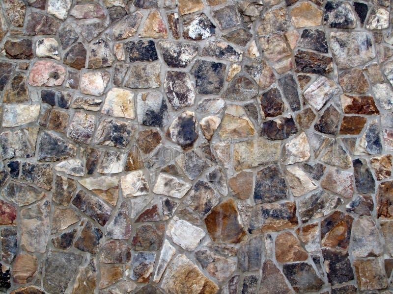 Pared rugosa Backround de la roca foto de archivo libre de regalías