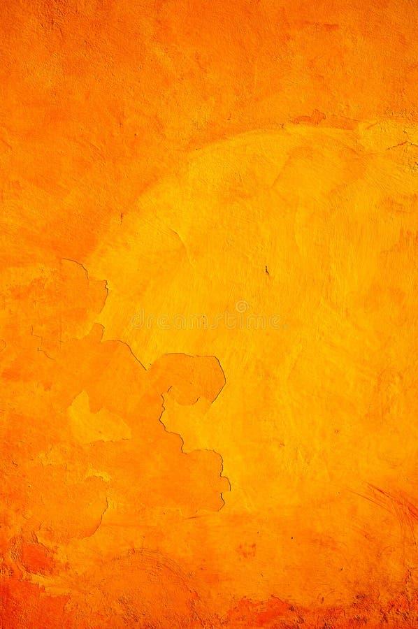 Pared textured anaranjada foto de archivo