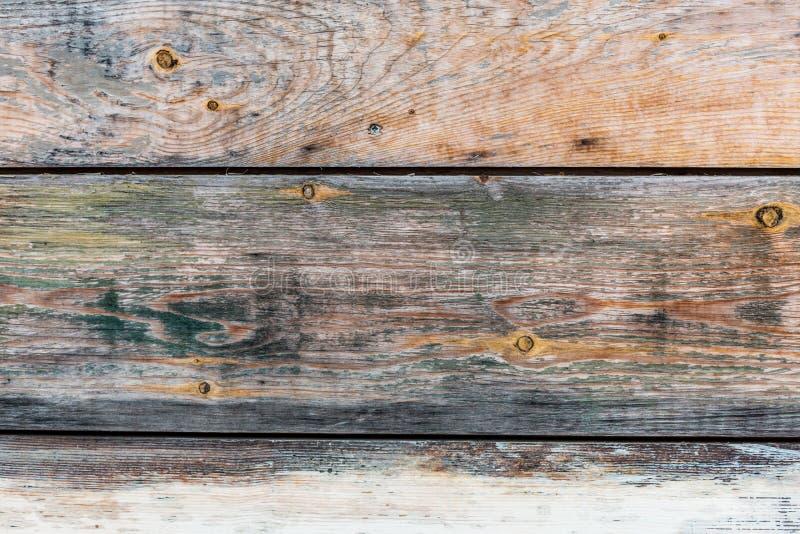 Pared texturizada grunge de madera del vintage fotos de archivo