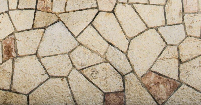 Pared texturizada piedra de la teja de España imagen de archivo libre de regalías