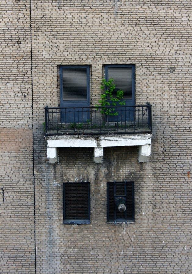 Pared urbana foto de archivo