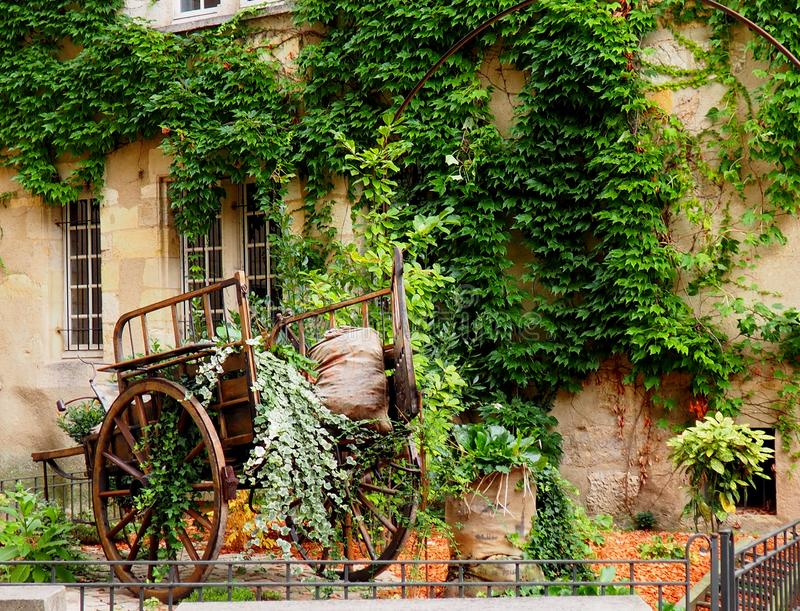 Download Pared verde foto de archivo. Imagen de ventanas, calle - 100529276