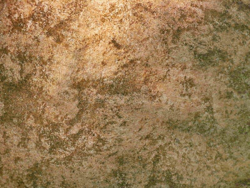 Pared verde de piedra vieja de la textura fotos de archivo
