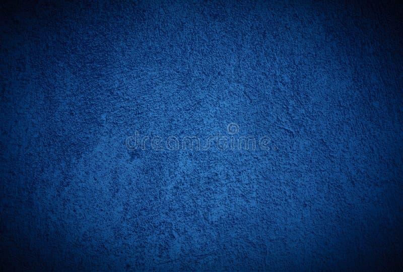 Pared vieja azul foto de archivo