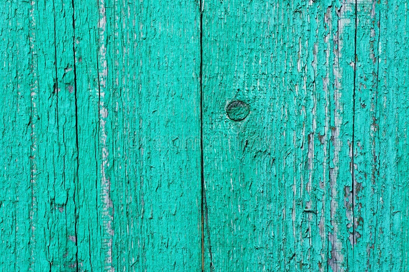 Pared vieja pintada verde imágenes de archivo libres de regalías