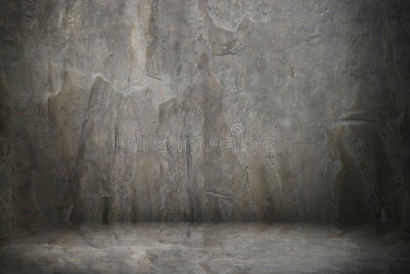 pared y piso del cemento imágenes de archivo libres de regalías