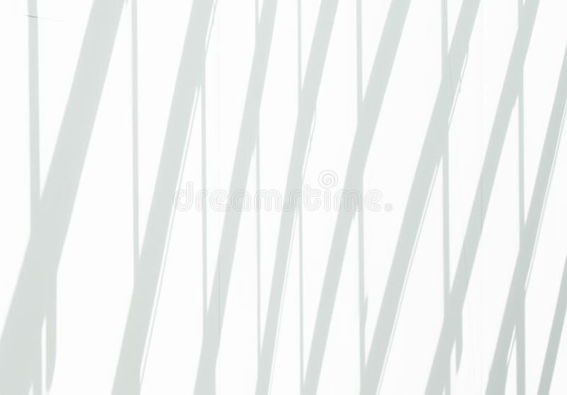 Pared y sombras blancas en ella ilustración del vector