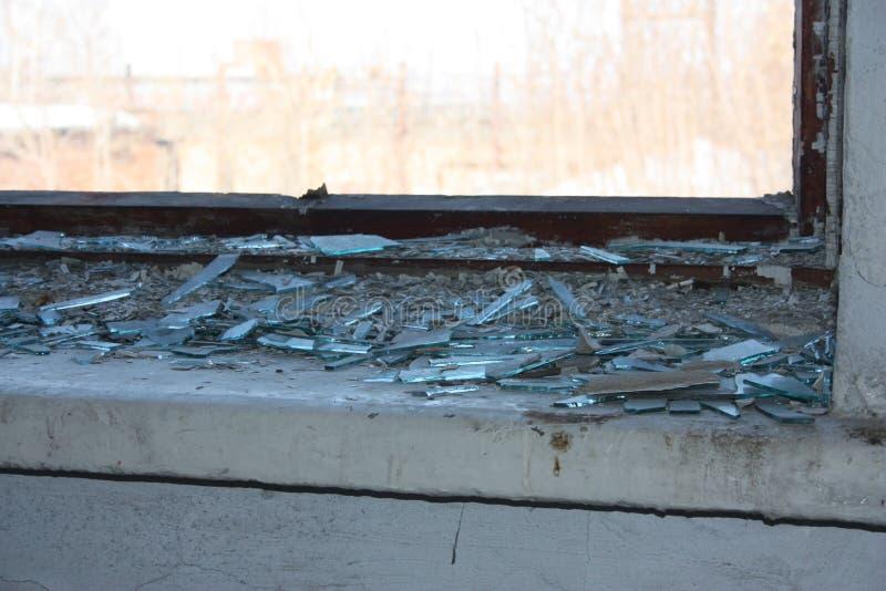 A parede é foto velha para a construção abandonada projeto fotos de stock