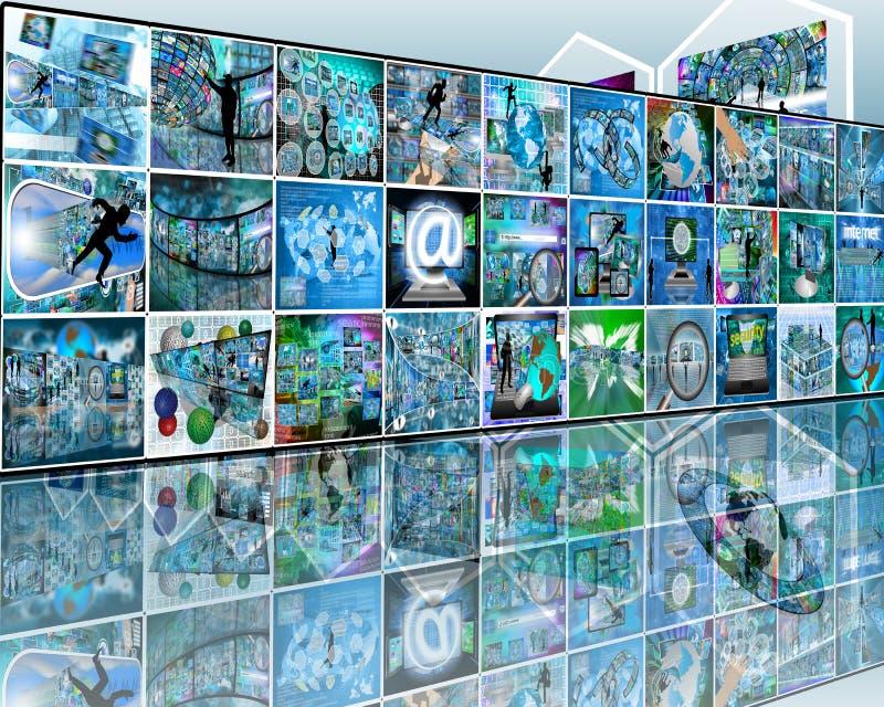 parede imagem de stock
