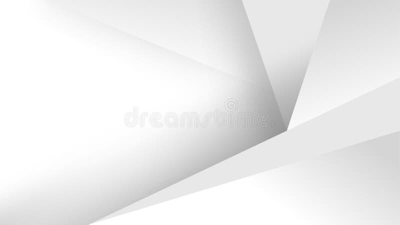 Parede abstrata branca da textura do fundo ilustração royalty free