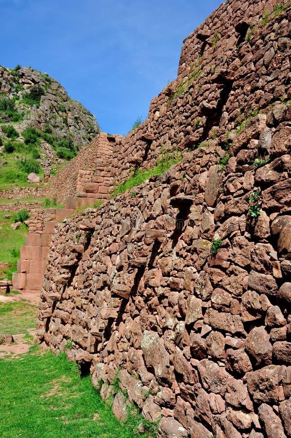 Download Parede Antiga Velha Em Peru Imagem de Stock - Imagem de outdoors, americas: 16852943