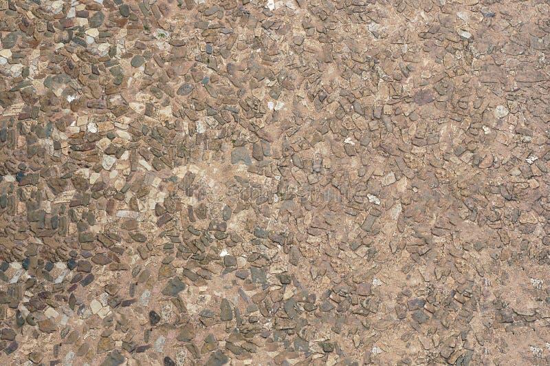 parede Caf?-colorida feita da pedra fina Textura ou fundo foto de stock royalty free