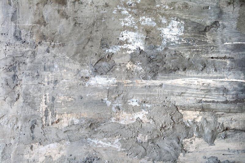 Parede cinzenta áspera do concreto e do cimento fotografia de stock