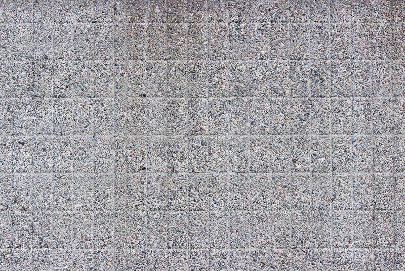 parede cinzenta moderna como uma folha de prova da textura de pedras pequenas no fundo ilustração do vetor
