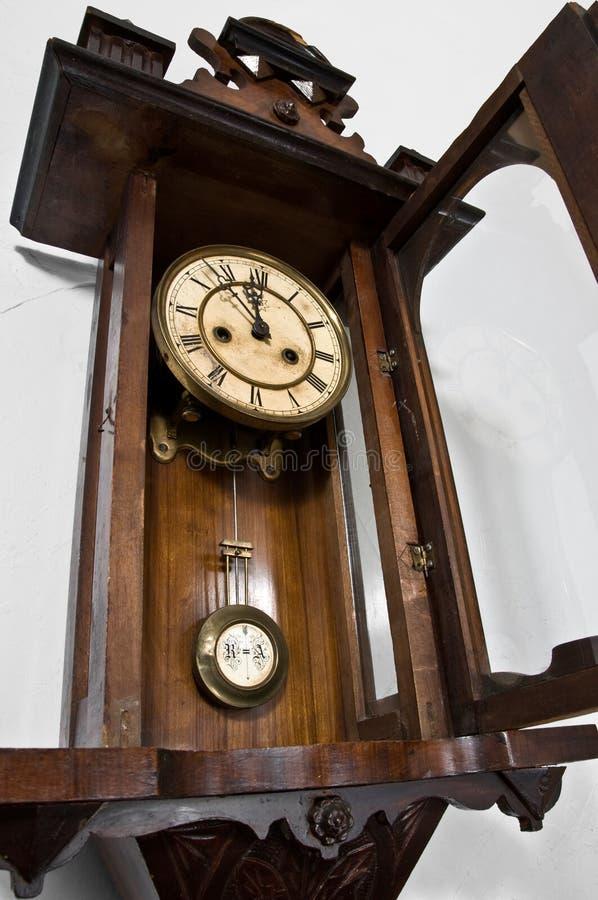 Parede clock1 imagens de stock