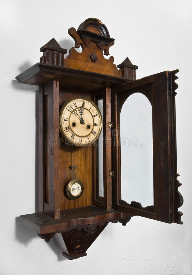 Parede Clock2 foto de stock