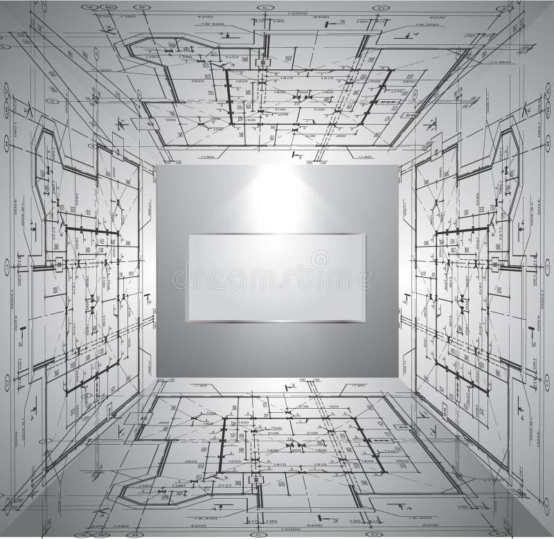 Download Parede Com Modelo E Luz Do Papel De Parede. Vetor Ilustração do Vetor - Ilustração de instalação, exhibition: 29848279