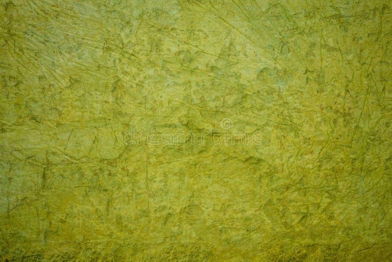 Parede concreta verde do grunge fotografia de stock royalty free