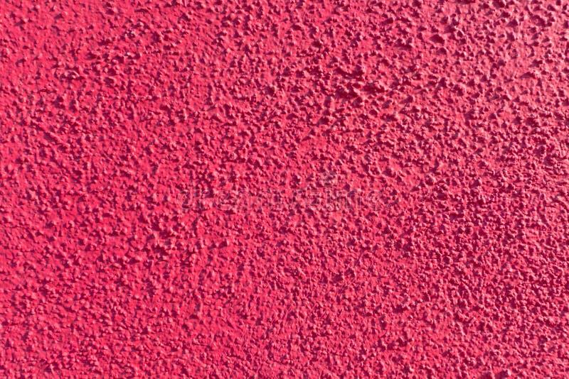 Parede cor-de-rosa brilhante do emplastro fotos de stock