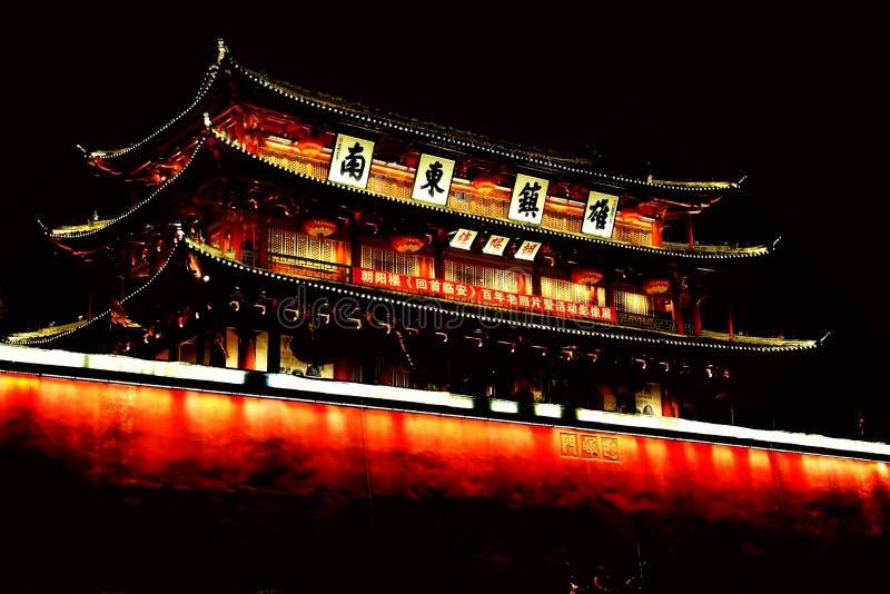Parede da cidade antiga de Jianshui fotos de stock royalty free
