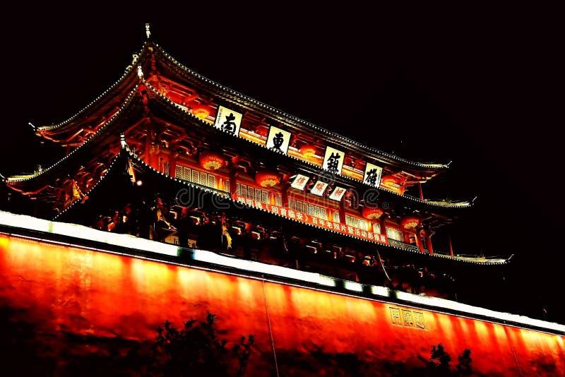 Parede da cidade antiga de Jianshui imagem de stock royalty free