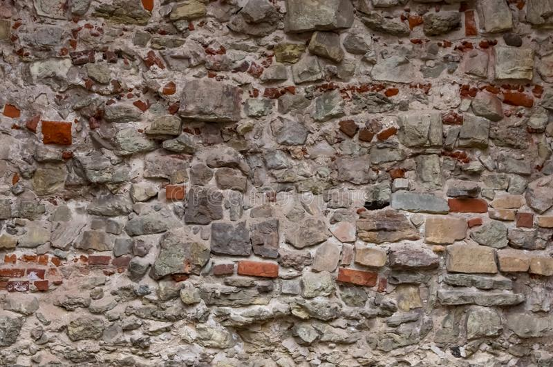 A parede da fortaleza fotografia de stock royalty free